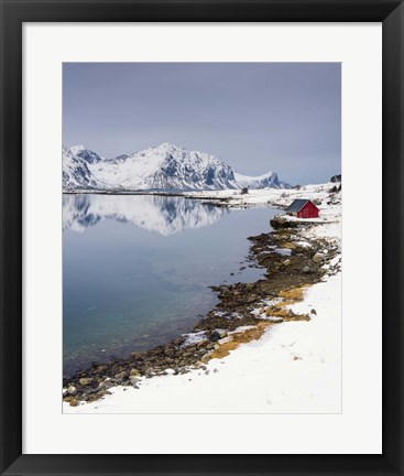 Framed Composure - Vertical Print