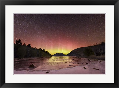 Framed Light Shafts Print