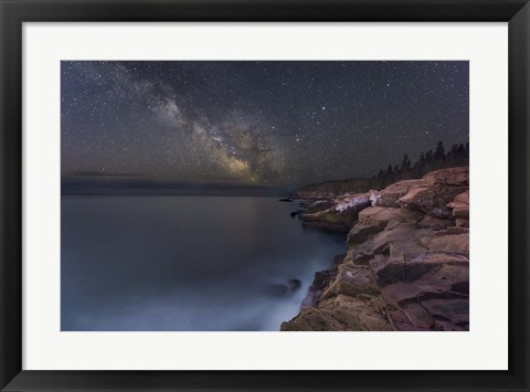 Framed Night Coast Print