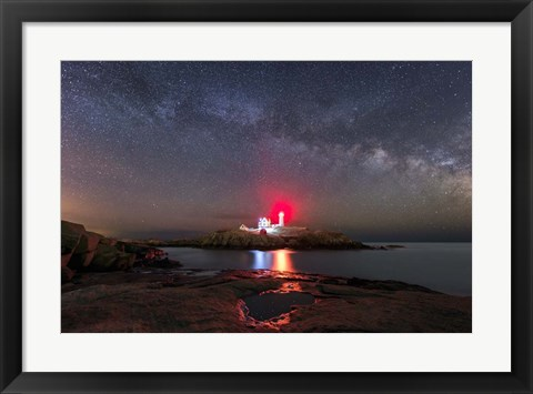 Framed Nubble Night Print