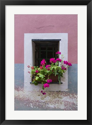 Framed Monterosso Window Print