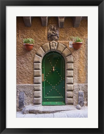 Framed Portovenere Door Print