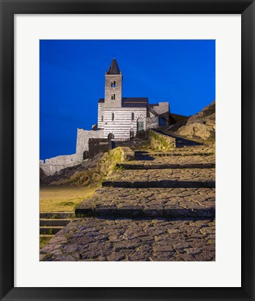 Framed Way to St. Peter's - Vertical Print
