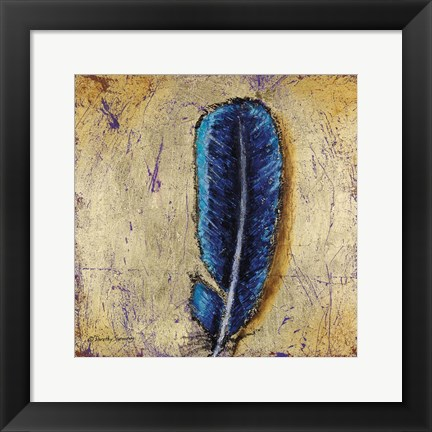 Framed Whose Feather Print