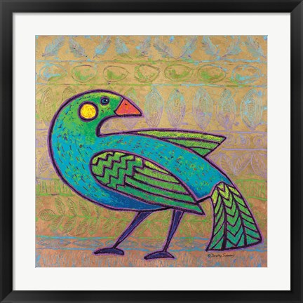 Framed Sweet Bird of Dreams Print