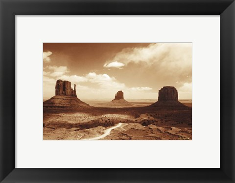 Framed Monument Valley Print