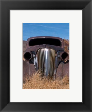 Framed Rust in Peace Print