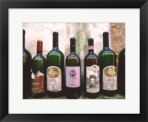 Framed Fine Wine II Print