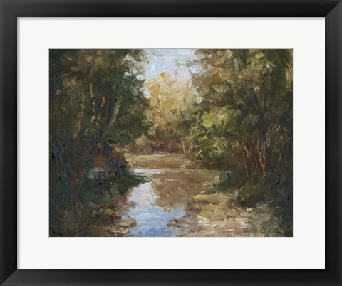 Framed Winding River Print