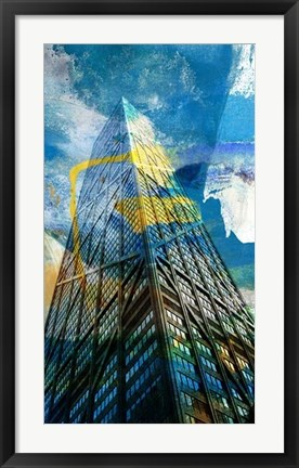 Framed Hancock Building, Chicago Print
