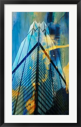 Framed Sears Building, Chicago Print