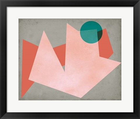 Framed Grey Sunshine II Print