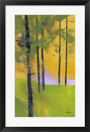 Framed Simple Spruce Print