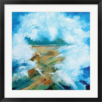 Framed Cloud III Print