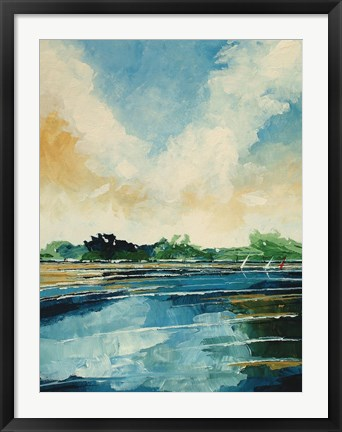 Framed Holkam Summer Beach Print