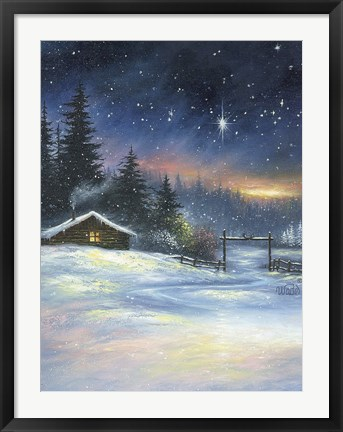 Framed Heavenly Night Print