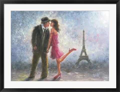 Framed Paris Love Print