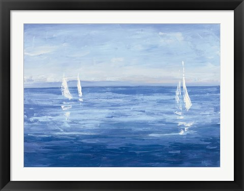 Framed Open Sail Print