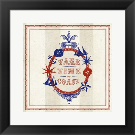 Framed Nautical Wisdom IV Print
