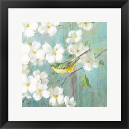 Framed Spring Dream VI Print