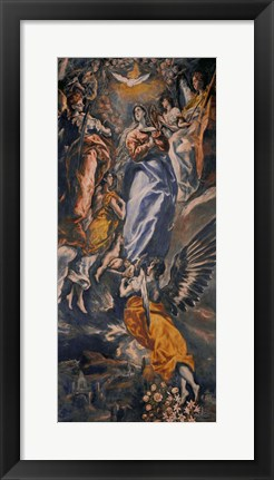 Framed Assumption of the Virgin, c. 1613 Print