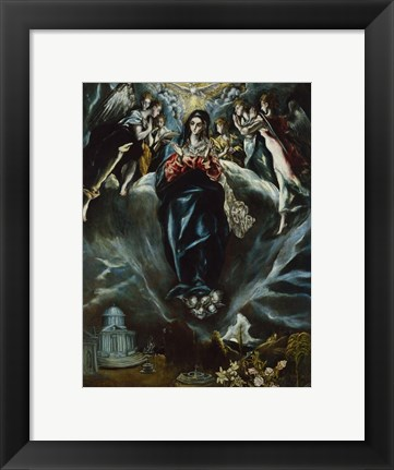 Framed Immaculate Conception c. 1608-14 Print