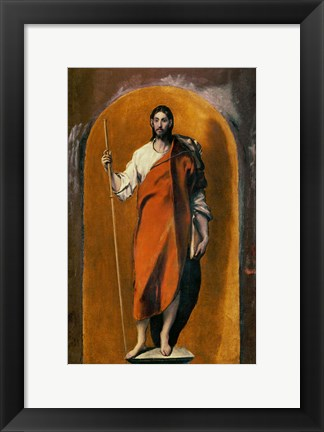 Framed Saint James, Apostle and Pilgrim Print