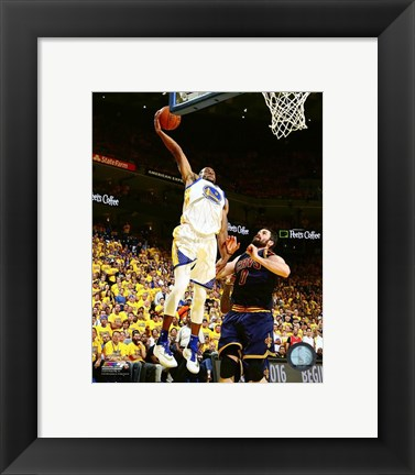 Framed Andre Iguodala Game 2 of the 2016 NBA Finals Print