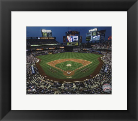 Framed Citi Field 2016 Print