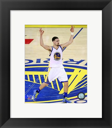 Framed Klay Thompson Game 2 of the 2016 NBA Finals Print