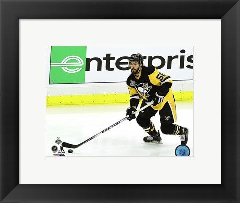 Framed Kris Letang Game 5 of the 2016 Stanley Cup Finals Print