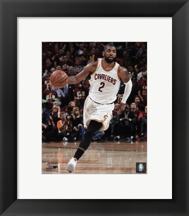 Framed Kyrie Irving Game 3 of the 2016 NBA Finals Print
