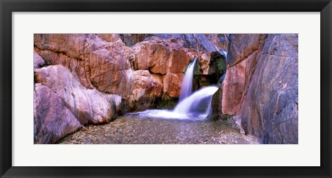 Framed Grand Canyon Waterfall, Arizona Print