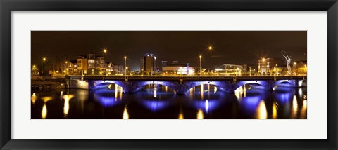 Framed Queen's Bridge, Belfast, Northern Ireland Print
