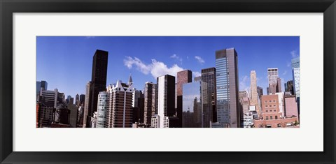 Framed Buildings in New York City Print
