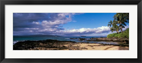 Framed Clouds Over the Pacific, Maui, Hawaii Print