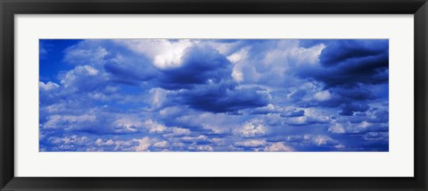 Framed Storm Clouds in the Sky Print