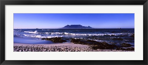 Framed Blouberg Beach, Cape Town, South Africa Print