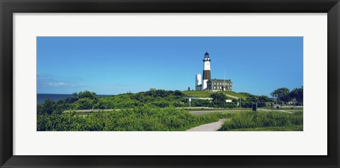 Framed Montauk Point Lighthouse, New York Print