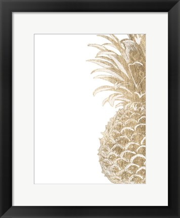 Framed Pineapple Life IV Print
