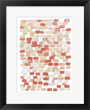 Framed Candy Pattern II Print
