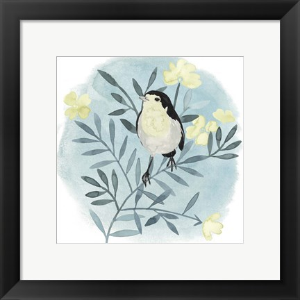 Framed Feathered Friends II Print
