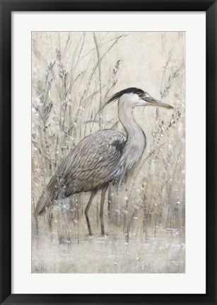 Framed Hunt in Shallow Waters I Print