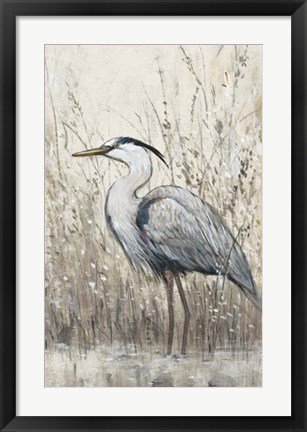 Framed Hunt in Shallow Waters II Print