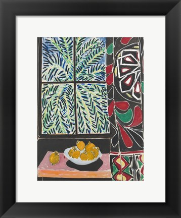 Framed Interior with Egyptian Curtain, 1948 Print