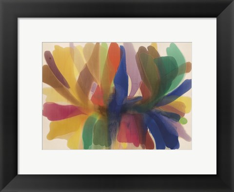 Framed Point of Tranquility, (1959-1960) Print