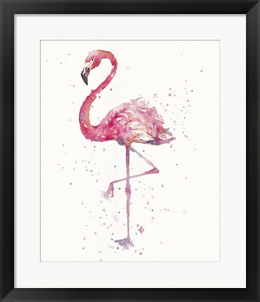 Framed Flamingo's Fancy Print