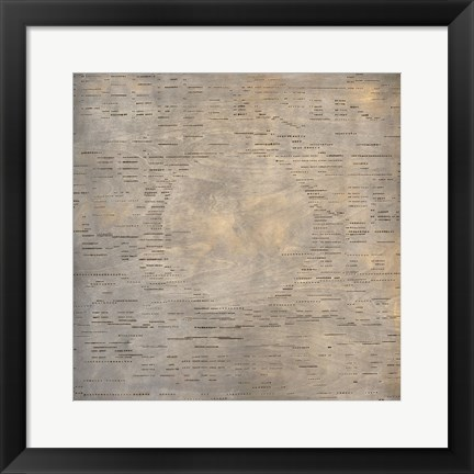 Framed Silent Music (Hesitation Waltz) Print