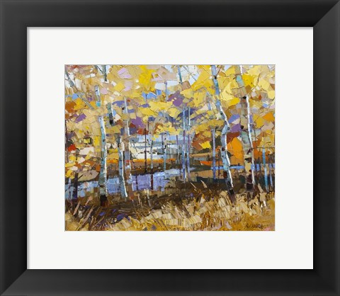Framed September Stillness Print