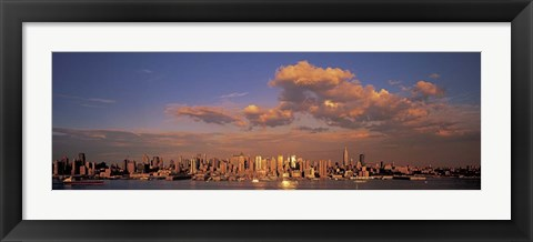 Framed Midtown Manhattan Skyline, NYC Print